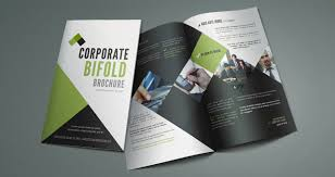 brochure template corporate bi fold brochure template brochure templates pixeden