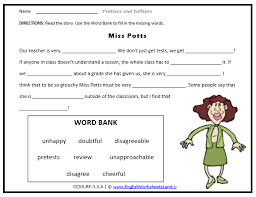 Use the meaning of prefixes in unknown words to determine their meaning. Root Suffix Prefix Second 2nd Grade Skill Builders Language Arts I4c