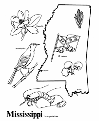 Small Picture USA Printables State of Mississippi Coloring Pages Mississippi