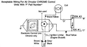 electronic ignition diagram Mopar Electronic Ignition Kit Wiring Diagram Pro Comp Distributor Wiring Diagram
