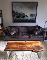 living edge furniture. Live Edge Wood And Resin Coffee Table From Fine Woooden Creations Living Furniture R