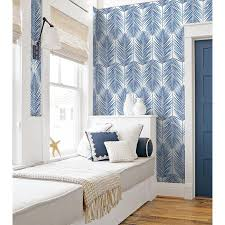 NextWall 30.75-sq ft Coastal Blue Vinyl ...