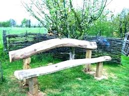 rustic garden furniture. Rustic Garden Furniture Bench Wooden