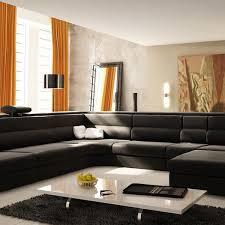 U Shaped Couch Living Room Furniture Furniture Comfortable Ethan Allen Sectional Sofas For Your Living
