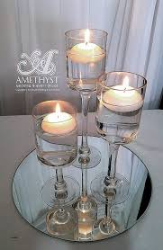 diy wine glass candle holders best of floating candle vases tall bulk uk