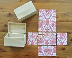 Plain Wooden Boxes To Decorate DIY Mod Podge Wooden Jewelry Boxes Diy mod podge Wooden jewelry 59