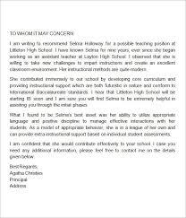 Letter Of Introduction Teacher Resume Format Examples 40 Impressive Letter Of Introduction Teacher