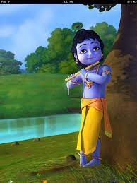 Little Krishna 3D Wallpaper (Page 1 ...