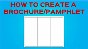 How To Create A Pamphlet In Word 2010 How To Create A Brochure Pamphlet On Google Docs