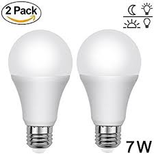 dawn to dusk light. Aukora Dusk To Dawn Light Bulbs - 7W E26/E27 Sensor Lights With Auto A
