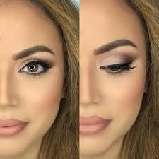 natural makeup looks simple everyday easy look and ideas for brown eyes tutorial for s