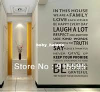 get quotations free shipping family house rules vinyl wall decals stickers fashion waterproof wall decor sticker art on house rules wall art suppliers with cheap family rules wall art find family rules wall art deals on