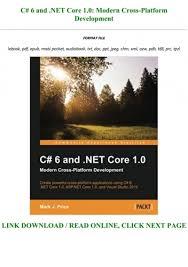 read book pdf c 6 and net core 1 0
