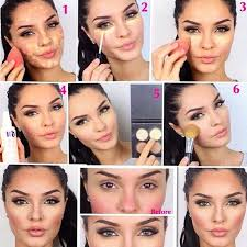 shareig beautiful job contouring highlighting by makeupbyevon using my kit with a beauty blender sponge and concealer thank you g