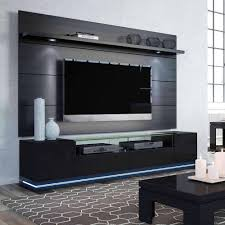 manhattan comfort vanderbilt tv stand and cabrini 2 2 floating wall tv panel with led lights for tvs up to 70 multiple colors com