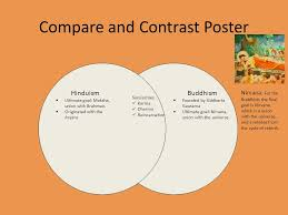 Compare And Contrast Hinduism And Buddhism Chart Compare Contrast Buddhism Hinduism Essay