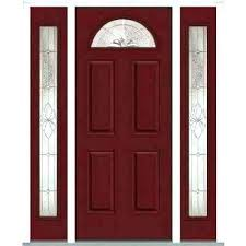 white craftsman front door. Craftsman Front Door With Sidelights S White 0