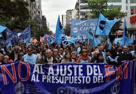 Resultado de imagen para argentina no al presupuesto