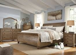 sleigh bed furniture. FRANCIS - Cottage Light Grey Wood Queen Sleigh Bedroom Furniture 5 Pieces Set Bed O
