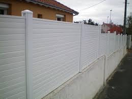 Panneau Brise Vue Pvc Canisse Blanc Pour Balcon Exoteck Brise Vue Pvc