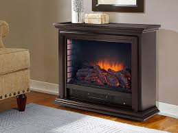 sheridan infrared electric fireplace heater in espresso glf 5002 75