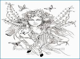 Evil Fairy Coloring Pages Pretty Y Fairy Coloring Pages For Adults