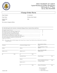 Construction Change Order Form - Letsridenow.com -
