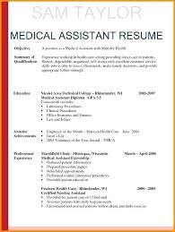 Objective For Cna Resume Extraordinary Medical Assistant Resume Objective Examples Entry Level Medical