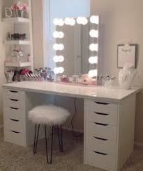 diy makeup vanity table. Plain Diy Makeup Vanity With Lights Lights Ikea  Table Lighted Mirror Professional With Diy