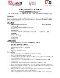 Ccna Certified Resume Sample Doc Windows System Administrator Resume Sample  Three Best Cv Formats Free Download