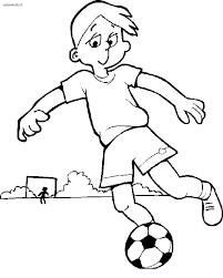 Foto Calcio Bambini Az Colorare