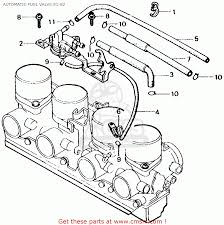 Honda cb750f 750 super sport 1981 b usa automatic fuel valve 81