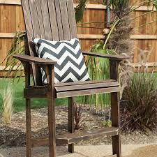 a bar height diy adirondack chair