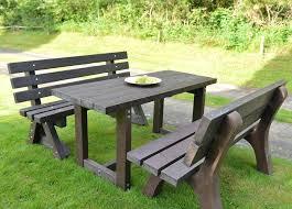 astounding plastic garden table patio table and bench fantastic plastic garden furniture sets plastic garden table