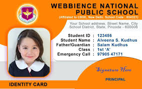Photo Id Template Free Download Id Card Template Student Cards For Company Identity Sample Format