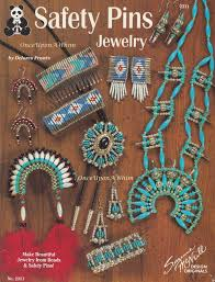 Beaded Safety Pin Designs Safety Pins Jewelry Suzanne Mcneill Beading Pattern Booklet
