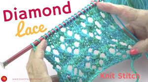 Diamond Knitting Pattern