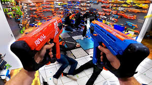 NERF GUN ARSENAL ATTACK! (First Person Arsenal Update!) - YouTube