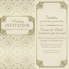 Baroque Wedding Invitations Antique Baroque Wedding Invitation Gold And Beige On Mandala