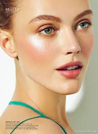 get glowing natural makeup elle beauty editorial