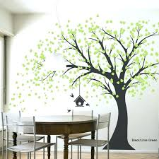 vinyl tree wall decals black branches sticker art stickers