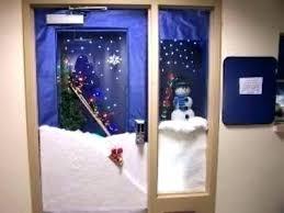 office christmas door decorating ideas. Brilliant Door Door Decorating Ideas For Christmas Office  Xmas Contest Inside Office Christmas Door Decorating Ideas O