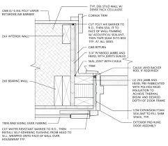 neutral garage door framing diagram