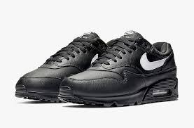 nike air max 90 1 black leather aj7695 001 release date