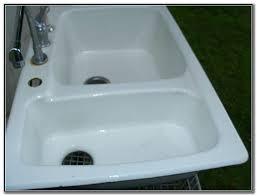 kohler porcelain kitchen sink cleaner