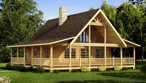 graceful log cabin home plans 9 carson front architecture good looking log cabin home plans