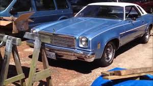 1974 Chevelle 2 Types of Bumper Filler Material - YouTube