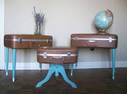 6 Ways to Repurpose Suitcases. Vintage Suitcase TableCoffee ...