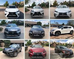 2019 Lexus Color Line North Park Lexus At Dominion