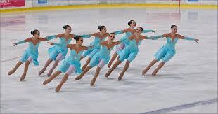 Реферат по физической культуре на тему Фигурное катание класс  Синхронное катание